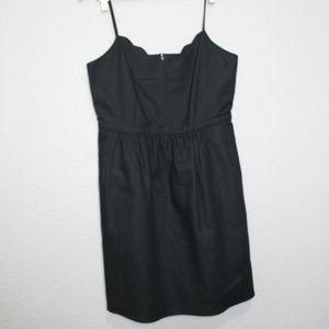 J. Crew Factory Scalloped Top Cami Dress sz 10